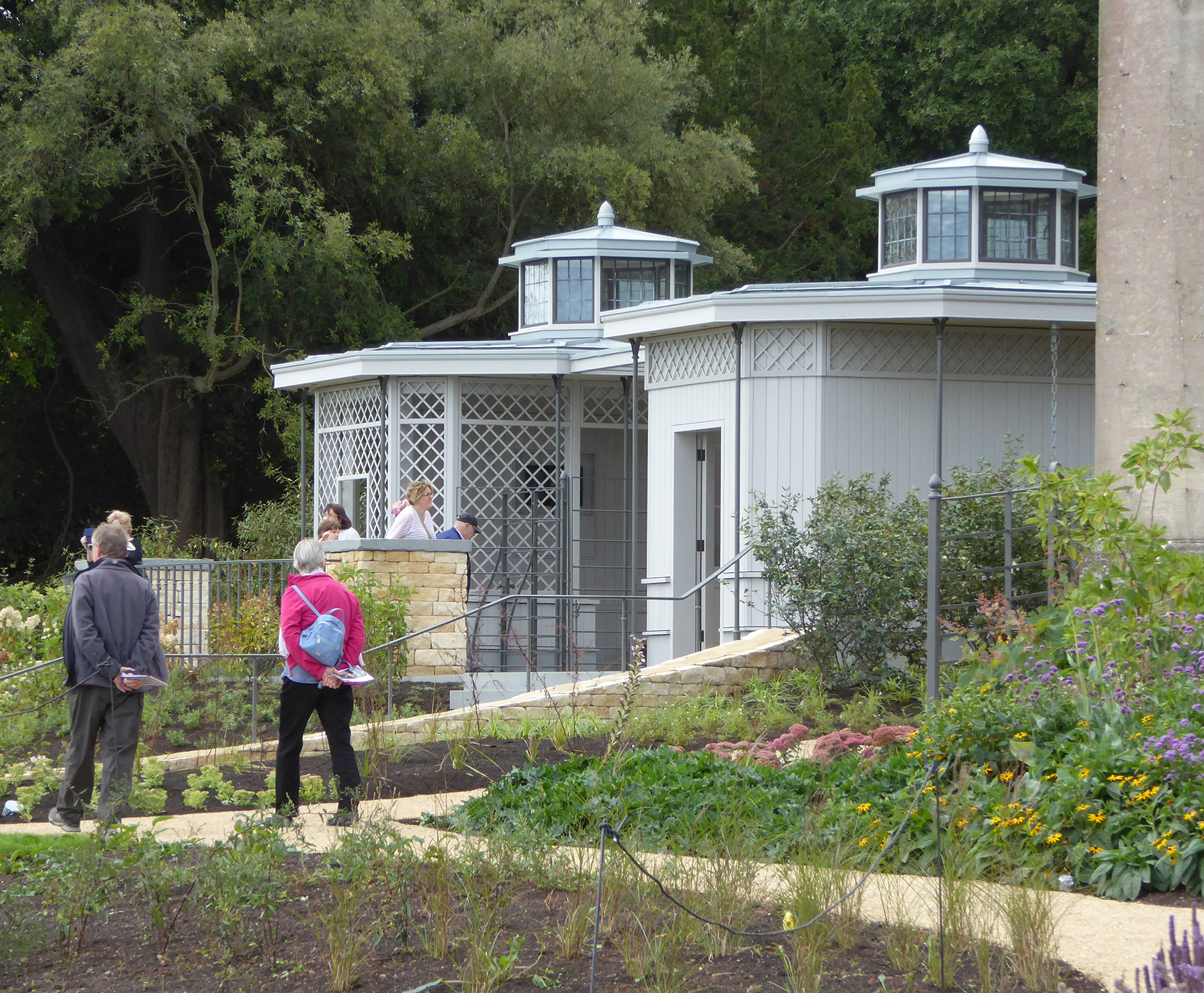 New American Garden at Bath's rebranded American Museum & Gardens   Nash Partnership